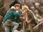 [ Sam and Frodo in Mordor - Click to see larger version ]