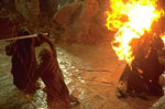 \[ Aragorn Fighting Nazgul \]