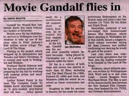 \[ Movie Gandalf Flies In \]