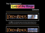 The Quintessential LOTR