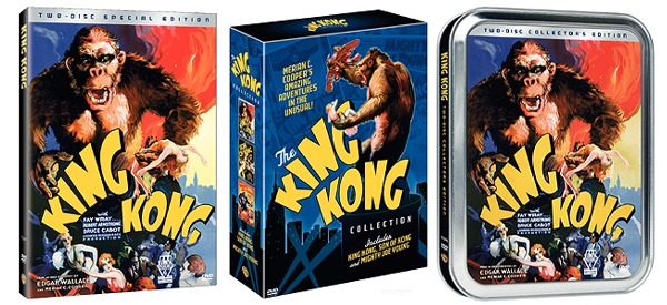 King Kong DVD Art & Pre-Order!