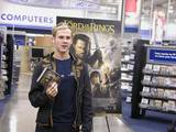 Dom poses with the ROTK DVD