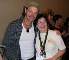 Hopkins and Jincey at DragonCon 2005