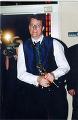 Richard Taylor with 'Oscar'