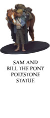 Sam and Bill the Pony Statue