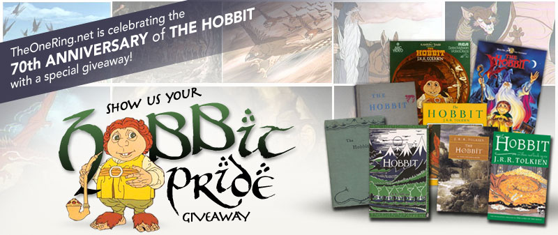 Join TheOneRing.net as we Celebrate the 70th Anniversary of The Hobbit with a Special Giveaway!