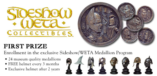 First Prize - Enrollment in the Sideshow/WETA Medallion Program